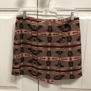 BB Dakota Faux Wrap Skirt